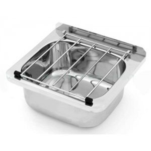 Cleaners Sink with Hinged Grate and Adjustable Legs (AB-CS-L)