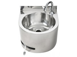 Hands Free Knee Operated Circular Wash Basin (AB-KNEEHB-RT)