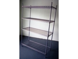 Wire Shelving 455 x 760 4 Shelves