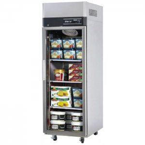 Turbo Air Stainless Steel Upright Freezer Glass Door Austune