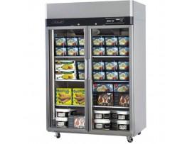 Turbo Air Upright Freezer 2 Glass Doors 1215L Austune