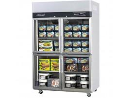 Turbo Air Upright Freezer 4 Half Glass Doors 1210L Austune