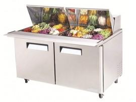 Mega Top Salad Table 24 pans AMST-24 Austune