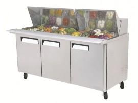 Mega Top Salad Table 30 pans AMST-30 Austune