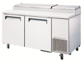 TurboAir Pizza Fridge with two doors CTPR-67SD Austune