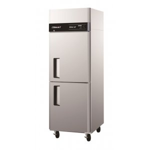 Turbo Air Stainless Steel Fridge 2 Half Size Solid Door Austune