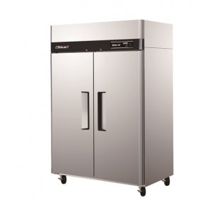 Turbo Air Upright Fridge 2 Solid Doors 1215L Austune