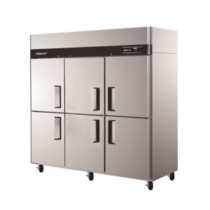 Turbo Air Fridge and Freezer 6 Half Size Doors KRF65-6 Austune