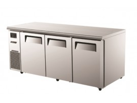 TurboAir Under Counter Freezer Three Solid Doors 538L