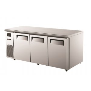 TurboAir Under Counter Fridge Three Solid Doors Austune