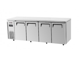 TurboAir Under Counter Freezer Four Solid Doors 640L
