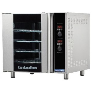 Turbofan Convection Oven, 4 tray bi-rev fan E32D4