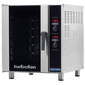 Turbofan Convection Oven, 5 tray bi-rev fan E33D5