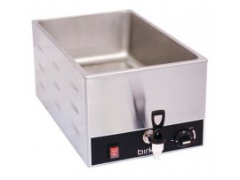 Birko Bain Marie Single With Drain Tap (No Pans)