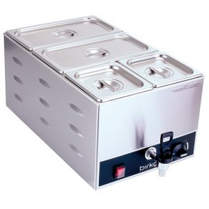 Birko Bain Marie Single With Drain Tap (With Pans)
