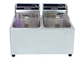 Birko Double Basket 5L Electric Fryer with Drain Tap