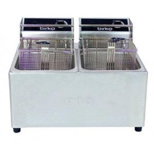 Birko Double Basket 5L Electric Fryer with Drain Tap
