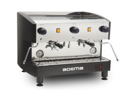Two Group Semi Auto Coffee Machine 'Deluxe' Boema
