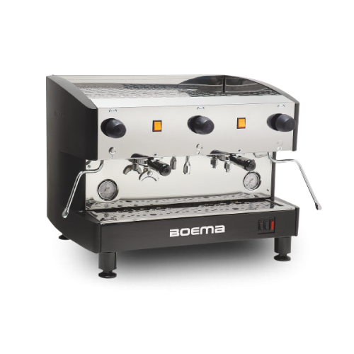 Boema 'Deluxe' Two Group Semi Auto Coffee Machine