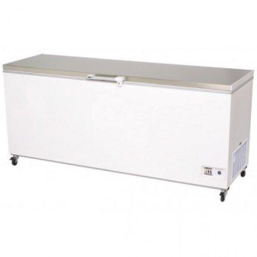 Bromic Flat Stainless Steel Chest Freezer 675L (CF0700FTSS)