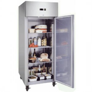 Single Solid Door Gastronorm Stainless Steel 650L UC0650SD Bromic
