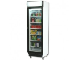 Glass Door Static Freezer 300 litres With Lightbox UF0374LS