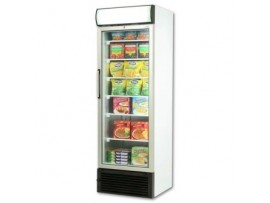 Glass Door Static Freezer 440 litres with Lightbox UF0440LS Bromic