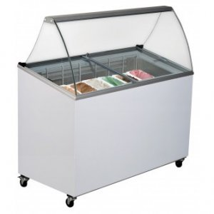 Bromic 7-Tub Angled Gelato Display (GD0007S)
