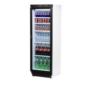 Bromic Glass Single Door Merchandiser Display 372L