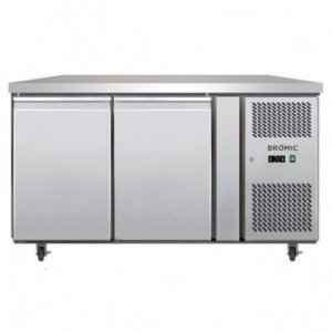 Under Counter Chiller Fridge 2 solid doors 282L UBC1360SD Bromic