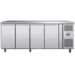 Under Counter Chiller Fridge 4 solid doors 553L UBC2230SD Bromic