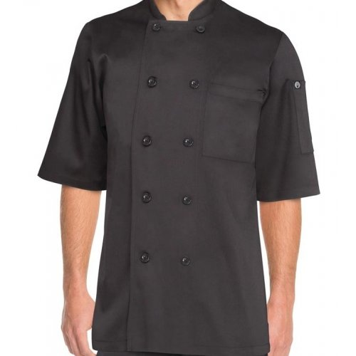Chambery Black Chef Jacket Small
