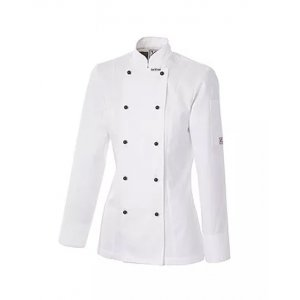 Executive Womens Chef Jacket White Size 10