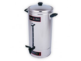 100 Cup Coffee Maker Percolator CM100SS Crown