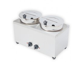Dual Pot Soup Warmer 2 x 7 litres DPS Crown