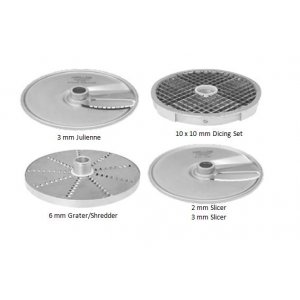 Pizza 4 Disc Pack 'B' with soft dicing kit suits RG100 Hallde