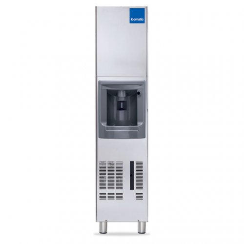 Icematic DX35A 29kg Push Button Ice Dispenser