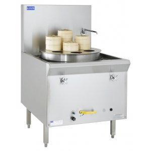 Yum Cha Single steamer with perf.tray 7 holes YC-1 LUUS