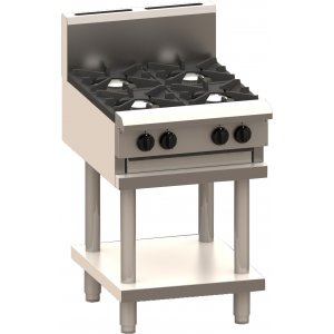 Cooktop 4 Burner and shelf BCH-4B LUUS