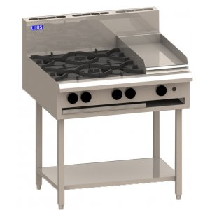 Cooktop 4 Burner 300 grill and shelf BCH-4B3P LUUS