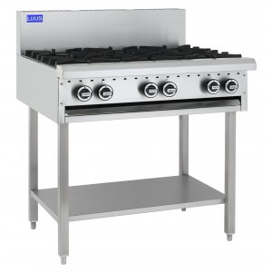 Cooktop 6 Burner 300 bbq and shelf BCH-6B3C LUUS