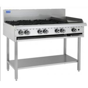 Cooktop 1200 bbq and shelf BCH-12C LUUS