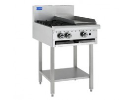Cooktop 2 Burner 300 grill and shelf BCH-2B3P LUUS