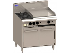Cooktop 2 Burner 600 grill and shelf BCH-2B6P LUUS