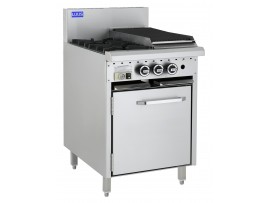 2 Burner 300 grill and oven CRO-2B3P LUUS