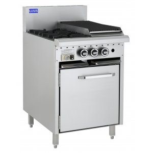 2 Burner 300 bbq and oven CRO-2B3C LUUS