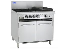 4 Burner 300 bbq and oven CRO-4B3C LUUS