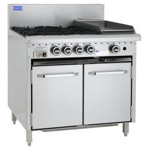 4 Burner 300 bbq and oven CRO-4B3C LUUS