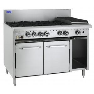 6 Burner 300 grill and oven CRO-6B3P LUUS