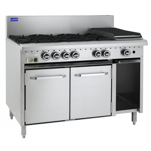 6 Burner 300 bbq and oven CRO-6B3C LUUS